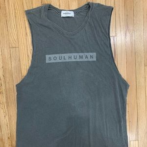 SoulCycle Cut Off Workout Tank - Unisex Size L